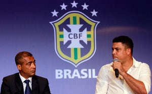Romario and Ronaldo at odds over Brazil FIFA World Cup