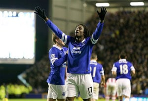 Everton go fourth with 4-0 win over Stoke City in EPL