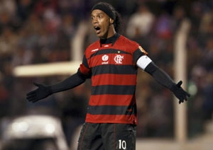 Ronaldinho suspended for violent conduct