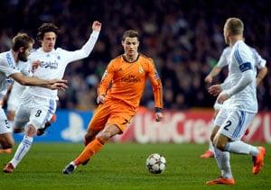 Champions League: Cristiano Ronaldo sets scoring record as Real Madrid win in Copenhagen
