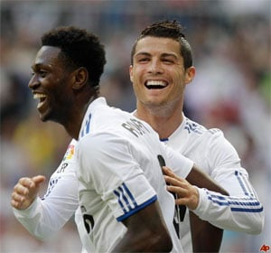 Ronaldo dismisses Adebayor's Real hopes