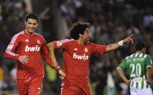 Ronaldo double as Real beat Betis to go 13 points clear