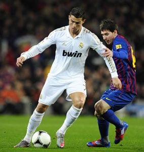 Cristiano Ronaldo set to top Lionel Messi as world's best player