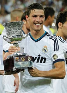 Real Madrid beat Barca 2-1 to lift Spanish Super Cup