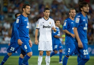 Champions Real Madrid crash at Getafe