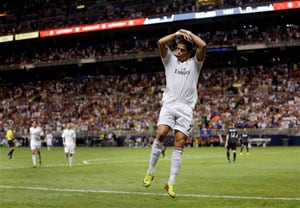 Cristiano Ronaldo, Kaka guide Real Madrid to 3-0 victory over Inter Milan