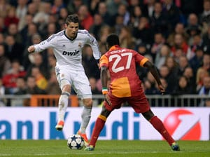 Champions League: Real Madrid cruise past Galatasaray 3-0