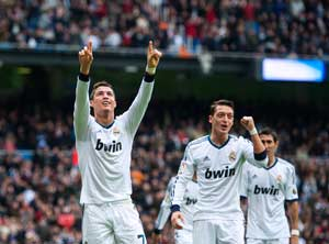 Ronaldo hits hat-trick as Madrid thrash Getafe