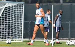 Cristiano Ronaldo towers over Madrid in underwear