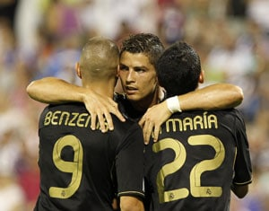 Ronaldo scores hat-trick as Real Madrid thrash Zaragoza