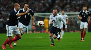 Unsettled Wayne Rooney proves fitness in friendly