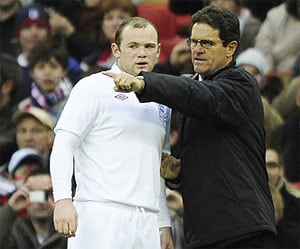 "Rooney ""gutted"" as Capello quits England"