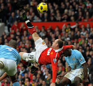 Rooney magic seals United's derby triumph