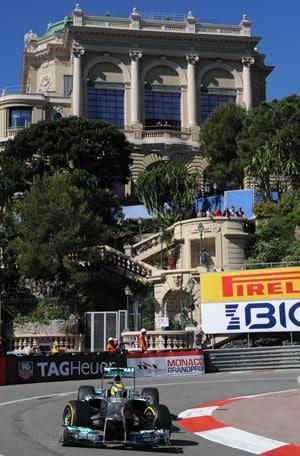 Monaco Grand Prix: Nico Rosberg fastest in opening practice
