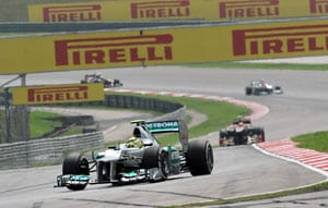 Rosberg fastest in final Malaysian Grand Prix practice
