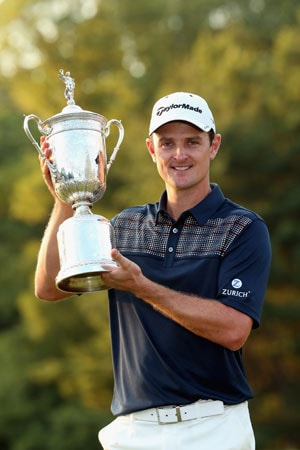 US Open 2013: Justin Rose out-duels Phil Mickelson to capture title