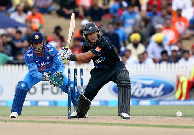 New Zealand vs India: Ross Taylor's 9th ODI ton scripts series win for Kiwis