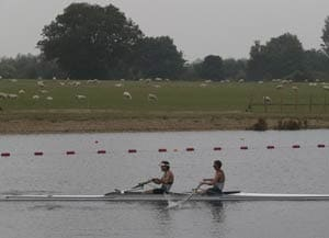 Rowing: Kiwi men's pair sets world best time at Olympics