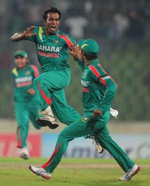 Rubel Hossain claims hat-trick as Bangladesh crush New Zealand in first ODI