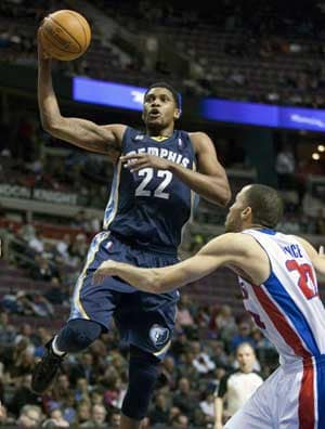 Grizzlies pull away in 4th, rout Pistons 98-81