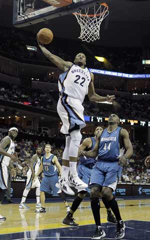 Grizzlies overcome Timberwolves 93-86