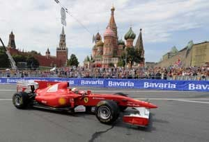 First F1 Russian Grand Prix in October 2014