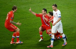 UEFA Euro 2012: Czech loss 'cruel but deserved' - media