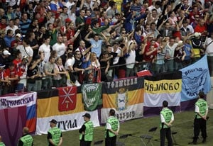 Euro 2012: Russia tells fans to behave