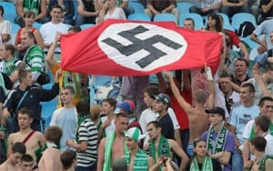 Racist fans shame Russia ahead of 2018 World Cup