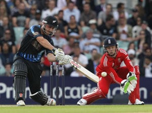 1st T20, Statistical highlights: New Zealand score first 200-plus total away from home