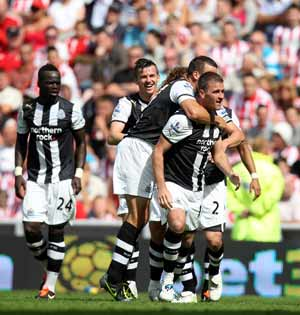 Newcastle bring down Sunderland by a goal