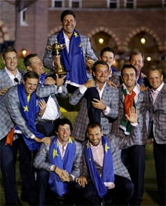 Ryder Cup glory comeback for Europe