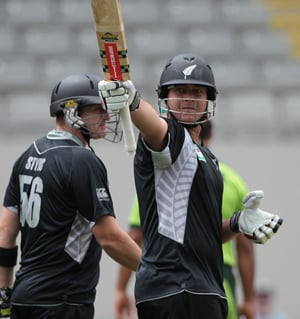 Ryder's blazing ton sets up consolation win