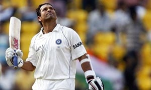 Sachin Tendulkar in Wisden's All-time World Test XI