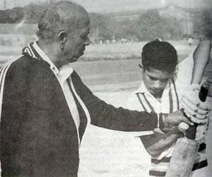 Candid interview of a teenage Sachin Tendulkar before he entered Team India
