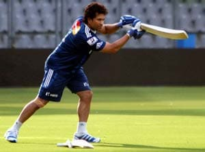 Sachin Tendulkar returns to practice for Mumbai Indians