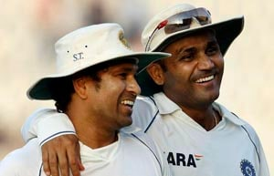 Sachin, Sehwag nominated for ICC's all-time greatest Test team