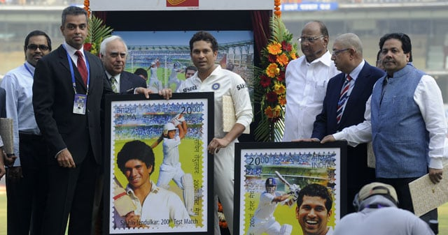 Sachin Tendulkar stamps during farewell series breached postal rules: RTI