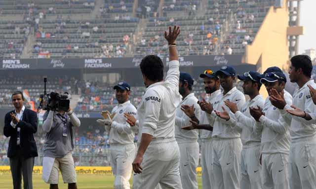 Sachin Tendulkar reveals the thought process behind his farewell speech