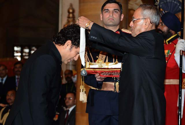 Sachin Tendulkar awarded with Bharat Ratna, India's highest civilian award