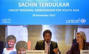 Didn't wash hands as a kid, my mother made me do it: Sachin Tendulkar