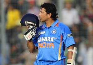 Sachin Tendulkar's 100th ton: Ecstatic but not proud!
