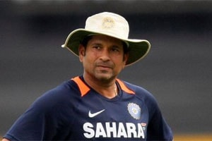 Sachin Tendulkar, Ajay Jadeja in Battle of Forties at Lahli Ranji tie