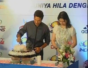Tendulkar thanks well-wishers on his 40th birthday
