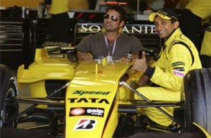 Sachin Tendulkar excited about Indian Grand Prix