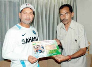 'Noteworthy' birthday gift awaits Sachin Tendulkar