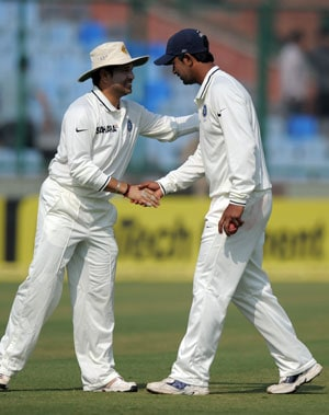 Pragyan Ojha kept his best for Sachin Tendulkar's farewell Test