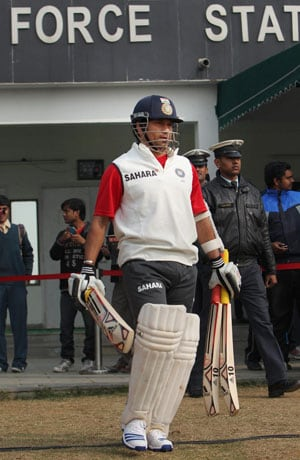 Wary of pitch, Sachin Tendulkar aborts practice ahead of Ranji Trophy semi final