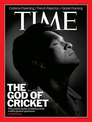 Sachin Tendulkar features on Time magazine cover
