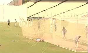 Sachin Tendulkar bats for almost an hour at Eden nets: As it happened